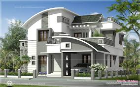 33 modern home designs plans india 1696 sqft modern double floor