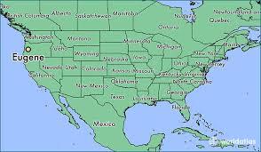 map of oregon eugene where is eugene or eugene oregon map worldatlas