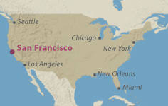 san francisco map of usa the fairmont san francisco san francisco usa luxury 4 and 5