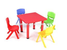 table and chairs plastic plastic chairs and tables for kids check this folding chair for kids
