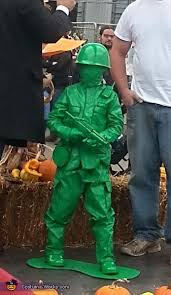 Army Guy Halloween Costume Plastic Green Army Man Costume Army Men Diy Costumes Costumes