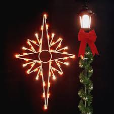 outdoor christmas decorations 5 u0027 bethlehem star silhouette