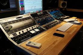 Build A Studio Desk by Studio Workstation Build For Mix Engineer Chris Allen Miloco Builds