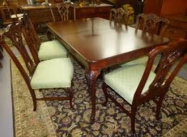 Table With 6 Chairs Antique Chittenden U0026 Eastman Dining Table With 6 Chairs Marva U0027s