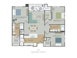 One Bedroom Apartment Floor Plans by Floor Plans For One Bedroom Apartments House Plans