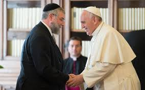 pope francis europe s christians and jews must stand together to