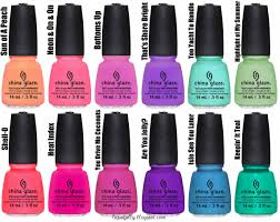 acrylic nail art the one thing thats on every bride to bes itinerary china glaze sunsational neon collection summer 2013 6 ultra