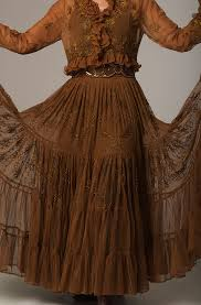 women u0027s western wear clothing images copper color beaded skirt