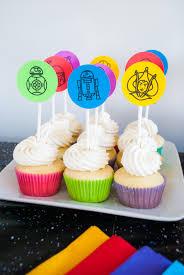 wars cupcakes wars cupcakes free printable toppers merriment design