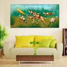 koi fish wall art shenra com