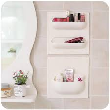 Bathroom Storage Rack 4 Styles Wall Suction Cup Kitchen Bathroom Storage Rack Can Use
