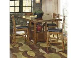 signature design by ashley ralene casual dining table set with 4