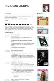 Graphic Designer Resume Samples by Graphic Web Designer Resume Samples Visualcv Resume Samples Database