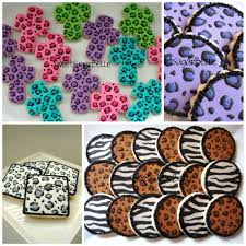 leopard print cookie tutorial u2013 the sweet adventures of sugar belle