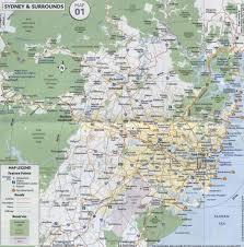 Sydney Subway Map Sydney Suburban Ubd Map 262 Buy Map Of Sydney Mapworld Where To