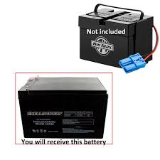 1 replacement battery for kid trax 12v dodge ram charger police
