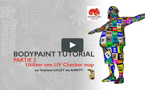 uv layout video tutorial cinema 4d uv layouts with bodypaint texture in photoshop in cinema