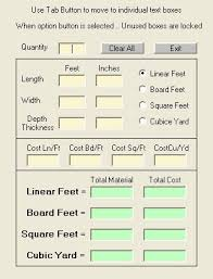 square footage calculator construction software free