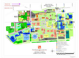 Indiana State University Campus Map by Sam Houston State University Campus Map Indiana Map