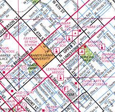 kentucky house map kentucky map