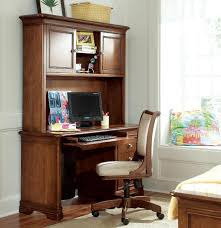 Wood Computer Desk With Hutch by Funiture Computer Desk For Home Ideas With White Wooden Hutch