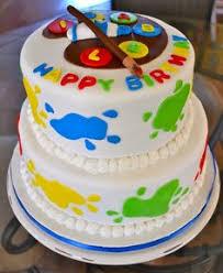 Rainbow Art Birthday Party Ideas Art Party Cakes Rainbow Art