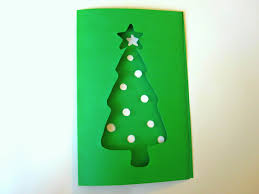 Homemade Christmas Tree by A Simple Diy Christmas Tree Card From Green Cardstock Jam Blog