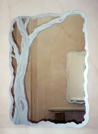 bathroom decorative mirror best 25 modern frameless mirrors ideas on pinterest with etched