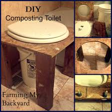 how to make your own diy composting toilet farming my backyard