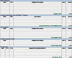 Excel Expense Report Template Free 5 Expense Report Templates Word Excel Pdf Templates