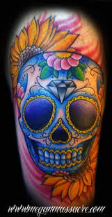 sugar skull tattoo without the snake tattoos pinterest