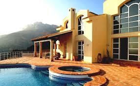 modern house swimming pool design designs stylish and spa viewing