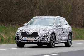 Audi Q5 Interior 2016 - 2016 audi q5 spotted with new grille and interior autocar