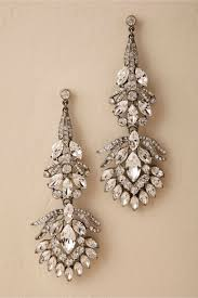 bridal chandelier earrings vizcaya chandelier earrings silver in bhldn