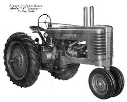 john deere model a tractor u2013 small farmer u0027s journal