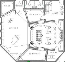 recording studio floor plan recording studios ami