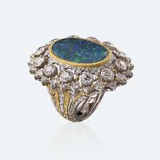 tourmaline opal rings buccellati official