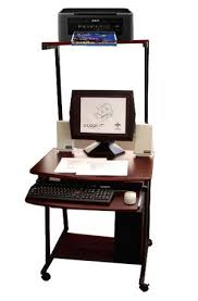 Compact Computer Desk Stak49 27 W Compact Computer Cart