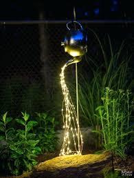 Backyard Solar Lighting Ideas High End Solar Landscape Lights Outdoor Lighting High Quality