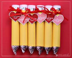 Homemade Valentines Gifts by Pencils Wm Valentines Ideas Pinterest Rolo Pencils Kiss And