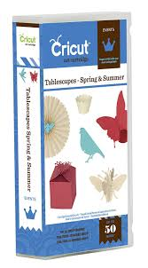 amazon com cricut tablescapes spring and summer cartridge
