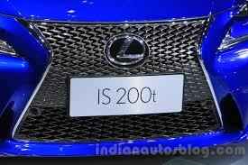 blue lexus 2015 2016 lexus is 200t u2013 2015 chengdu motor show