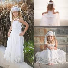 2015 cheap cute beach wedding flower girls u0027 dresses lace a line
