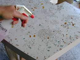 Installing A Vanity Top How To De Form Polish And Install A Customized Concrete Vanity