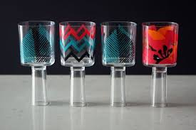 What Do You Need For A Cocktail Party - a wine glass and shot glass in one brit co