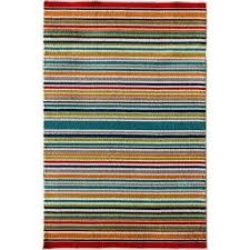 Stripe Indoor Outdoor Rug Attractive Striped Indoor Outdoor Rug Of Rugs The Home Depot