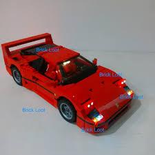 lego f40 led lighting kit for lego 10248 f40 lighting kit usb