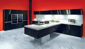 cuisine noir laqué meuble haut cuisine noir laqu simple cuisine noir et prune