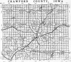 1958 crawford county iowa plat maps