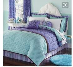 purple and teal bedding lv designs